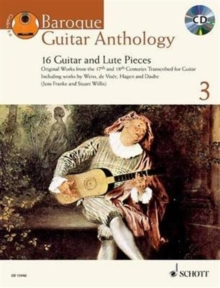Baroque Guitar Anthology + CD : 16 Guitar and Lute Pieces, Mixed media product Book