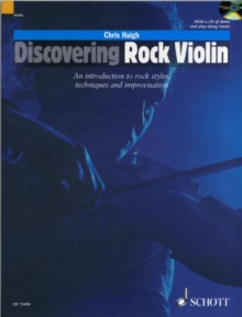Discovering Rock Violin : The Use of the Violin in Pop, Folk and Rock Music, Mixed media product Book