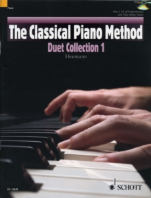 The Classical Piano Method: Duet Collection 1, Mixed media product Book