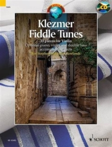 Klezmer Fiddle Tunes + CD : 33 Pieces - Performances and Play-Along Tracks, Mixed media product Book
