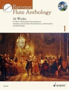 Baroque Flute Anthology : 36 Works 1, Mixed media product Book