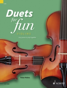 Duets for Fun: Violins : Easy Pieces to Play Together, Sheet music Book