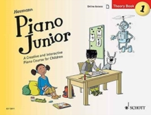 Piano Junior: Theory Book 1: A Creative and Interactive Piano Course for Children : Book 1, Sheet music Book
