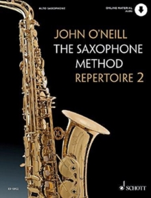 SAXOPHONE METHOD REPERTOIRE BOOK VOL2, Paperback Book