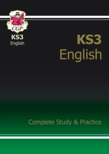 New KS3 English Complete Study & Practice (with Online Edition), Paperback Book