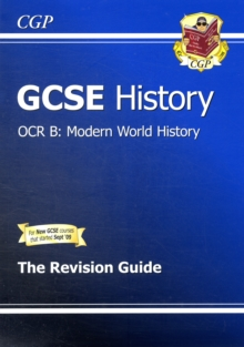 GCSE History OCR B: Modern World History Revision Guide (A*-G Course), Paperback Book