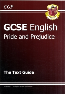 Grade 9-1 GCSE English Text Guide - Pride and Prejudice, Paperback / softback Book