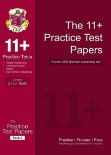 11+ Practice Papers for the CEM Test - Pack 2, Paperback / softback Book