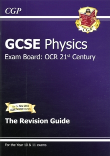 GCSE Physics OCR 21st Century Revision Guide (with Online Edition) (A*-G Course), Paperback Book