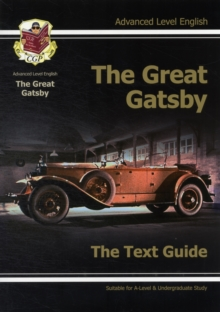 A Level English Text Guide - The Great Gatsby, Paperback Book