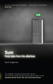 Sum : Tales from the Afterlives, Paperback Book