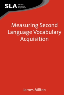 Measuring Second Language Vocabulary Acquisition, Paperback Book