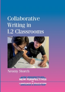 Collaborative Writing in L2 Classrooms, Paperback Book
