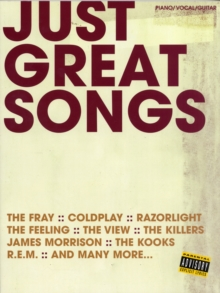 Just Great Songs : for Piano, Voice and Guitar, Paperback Book