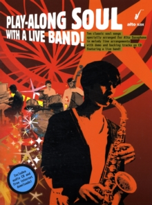 Play-Along Soul With A Live Band] - Alto Sax (Book And CD), Paperback / softback Book