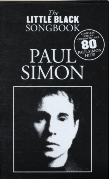 Paul Simon : The Little Black Songbook, Mixed media product Book