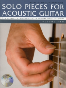 Solo Pieces for Acoustic Guitar - Volume Two (Book & CD), Paperback / softback Book