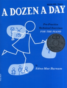 A Dozen A Day : Book One - Primary Edition (Book And CD), Paperback Book