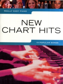 Really Easy Piano : New Chart Hits, Paperback Book
