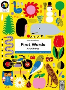 First Words : Art Charts, Paperback Book