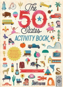 The 50 States: Activity Book : Maps of the 50 States of the USA, Paperback Book