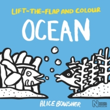 Lift-the-flap and Colour Ocean, Paperback / softback Book
