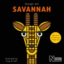 Sticker Art Savannah, Paperback / softback Book