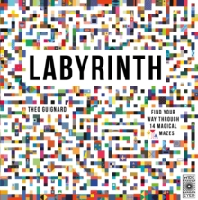 Labyrinth : Find your way through 14 magical mazes, Hardback Book