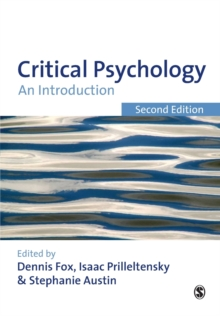 Critical Psychology : An Introduction, Paperback Book