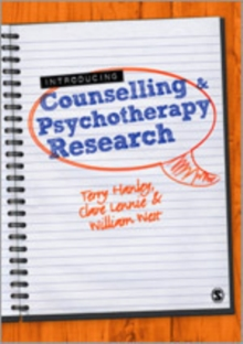 Introducing Counselling and Psychotherapy Research, Hardback Book