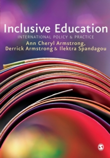 Inclusive Education : International Policy & Practice, Paperback / softback Book