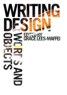 Writing Design : Words and Objects, Paperback / softback Book