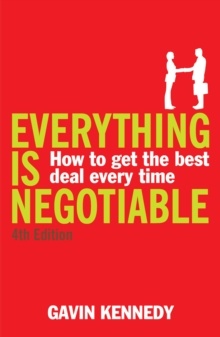 Everything is Negotiable : 4th Edition, Paperback Book