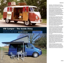 VW Camper - The Inside Story : A Guide to VW Camping Conversions and Interiros 1951-2012 Second Edition, Hardback Book