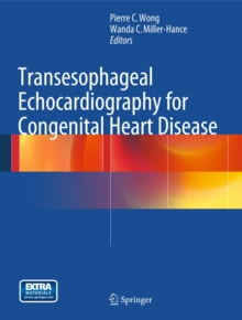 Transesophageal Echocardiography for Congenital Heart Disease, Mixed media product Book