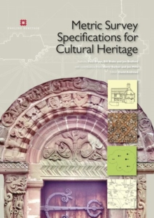 Metric Survey Specifications for Cultural Heritage, Paperback Book