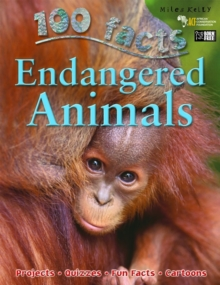 100 Facts - Endangered Animals, Paperback Book