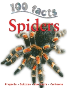 100 Facts - Spiders, Paperback / softback Book