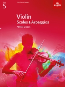 Violin Scales & Arpeggios, ABRSM Grade 5 : from 2012, Sheet music Book