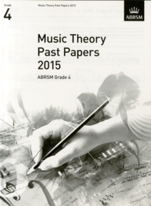 Music Theory Past Papers 2015, ABRSM Grade 4, Sheet music Book