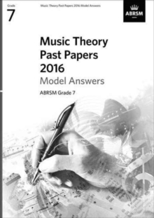 Music Theory Past Papers 2016 Model Answers, ABRSM Grade 8, Sheet music Book