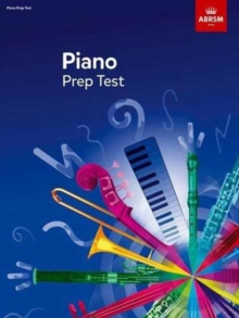 Piano Prep Test : revised 2016, Sheet music Book