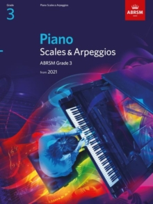 Piano Scales & Arpeggios, ABRSM Grade 3 : from 2021, Sheet music Book