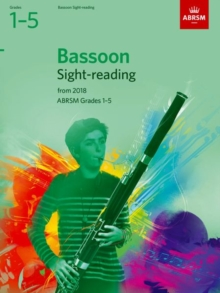 Bassoon Sight-Reading Tests, ABRSM Grades 1-5 : from 2018, Sheet music Book