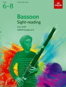 Bassoon Sight-Reading Tests, ABRSM Grades 6-8 : from 2018, Sheet music Book