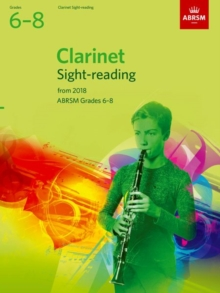 Clarinet Sight-Reading Tests, ABRSM Grades 6-8 : from 2018, Sheet music Book