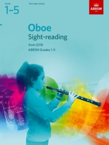 Oboe Sight-Reading Tests, ABRSM Grades 1-5 : from 2018, Sheet music Book