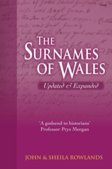 Surnames of Wales, The, Hardback Book