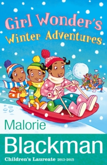 Girl Wonder's Winter Adventures, Paperback Book