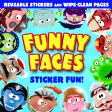 Funny Faces : Sticker Fun!, Paperback Book